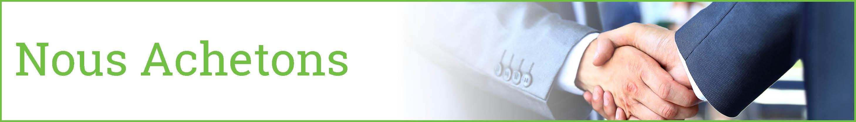 NOUS achetons - services de telecommunication